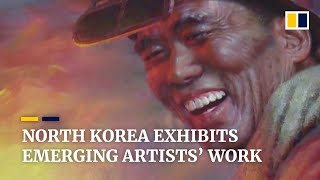 EUROPESE OMROEP | OPENN  | Young and emerging North Korean artists showcase their work to promote the country's policies