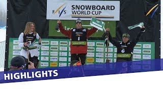 EUROPESE OMROEP | FIS Snowboarding | Chris Corning wins Slopestyle contest in Seiser Alm to clinch World Cup title | Highlights | 1521280523 2018-03-17T09:55:23+00:00