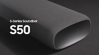EUROPESE OMROEP | OPENN  | Soundbar - S50A: Official Introduction | Samsung