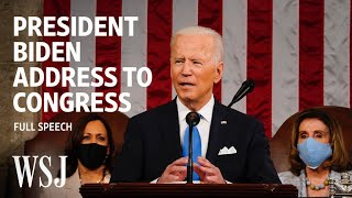 EUROPESE OMROEP | OPENN  | President Biden's Full Address to Congress | WSJ