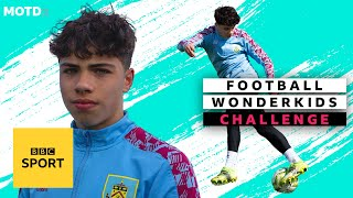 EUROPESE OMROEP | OPENN  | Burnley's Keelan Williams megs the keeper | MOTDx Wonderkids Challenge