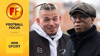 EUROPESE OMROEP | OPENN  | Kalvin Phillips shows Ian Wright around where he grew up in Leeds