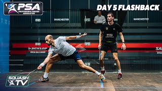 EUROPESE OMROEP | OPENN  | Squash: Manchester Open 2020 Flashback - Day 5