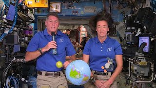EUROPESE OMROEP | OPENN  | NASA Astronauts Share Teacher Appreciation Week Message From the Space Station