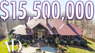 EUROPESE OMROEP | OPENN  | Inside A $15.5M Hidden Mansion With A Luxury Car Barn | On The Market | Architectural Digest