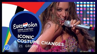EUROPESE OMROEP OPENN Iconic Costume Changes on the Eur