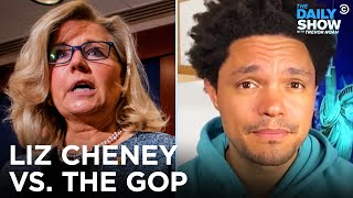 EUROPESE OMROEP | OPENN  | The GOP Pushes Out Liz Cheney & Conspiracy Theorists Take Over Arizona's Recount | The Daily Show