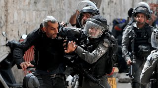 EUROPESE OMROEP | OPENN  | Palestinians, Israeli police clash at al-Aqsa Mosque in Jerusalem ahead of Jewish nationalist march