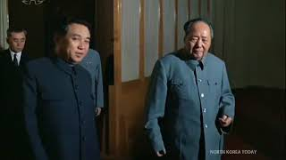 EUROPESE OMROEP | NORTH KOREA TODAY | Kim ll Sung and Mao Tse Tung (1971) Video Archive | 1523003161 2018-04-06T08:26:01+00:00