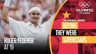 EUROPESE OMROEP | Olympic | Roger Federer at age 19 | Before They Were Superstars | 1524146401 2018-04-19T14:00:01+00:00