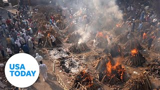 EUROPESE OMROEP   OPENN    India COVID-19 crisis: Oxygen running out, crematoriums overwhelmed   USA TODAY