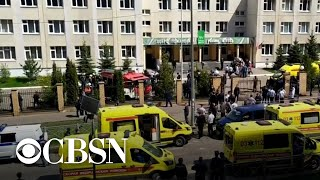 EUROPESE OMROEP | OPENN  | 9 killed in Russian school shooting, including 7 students