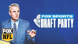 EUROPESE OMROEP | OPENN  | FOX Sports Draft Party with Trey Wingo & special guests | FOX NFL