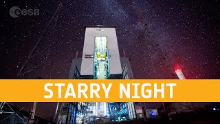 EUROPESE OMROEP | OPENN  | Starry night at the Ariane 6 launch base