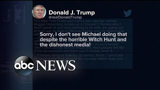 EUROPESE OMROEP | ABC News | Trump spends the weekend lashing out against the media on Twitter | 1524444879 2018-04-23T00:54:39+00:00