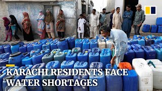 EUROPESE OMROEP | OPENN  | Pakistan's Karachi residents left thirsty amid water shortages