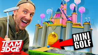 EUROPESE OMROEP | OPENN  | We made the CRAZIEST Mini Golf Course!! | Disney Edition