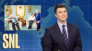 EUROPESE OMROEP | OPENN  | Weekend Update: The Bidens and Carters Take a Picture & the Most Instagrammable Bird - SNL