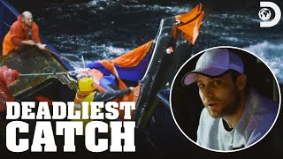 EUROPESE OMROEP | OPENN  | The Saga Struggles to Save Its Life Raft | Deadliest Catch