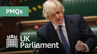 EUROPESE OMROEP OPENN Prime Minister's Questions (PMQs) - 17