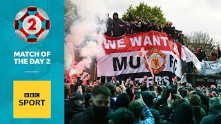 EUROPESE OMROEP | OPENN  | 'Fans overstepped the mark' - Shearer and Jenas on Man Utd protest | BBC Sport