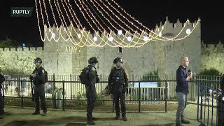 EUROPESE OMROEP | OPENN  | Live from Jerusalem's Old City following clashes between Israeli police and Palestinians