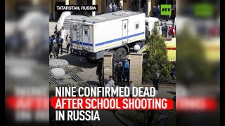 EUROPESE OMROEP | OPENN  | DISTRESSING | Grim footage of Kazan school shooting
