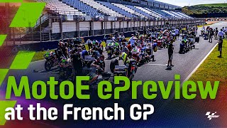 EUROPESE OMROEP | OPENN  | The ePreview of the FIM Enel #MotoE World Cup ⚡️ at the #FrenchGP 🇫🇷