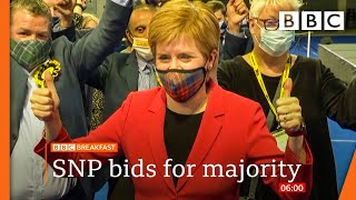 EUROPESE OMROEP | OPENN  | Scottish election 2021: SNP hopes of majority remain on a knife edge - BBC News live 🔴 BBC