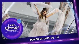 EUROPESE OMROEP OPENN TOP 50: Most watched in 2019: 30