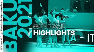 EUROPESE OMROEP | OPENN  | 2021 Baku Rhythmic Gymnastics World Cup – Highlights