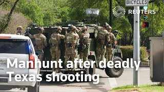 EUROPESE OMROEP OPENN Manhunt after deadly Texas shooting