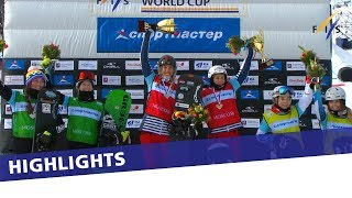 EUROPESE OMROEP | FIS Snowboarding | Moenne Loccoz and Trespeuch win Team SBX in Moscow | Highlights | 1520761916 2018-03-11T09:51:56+00:00