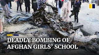 EUROPESE OMROEP | OPENN  | Afghan girls' school bombing kills at least 68, raises fear of more violence as US withdraws