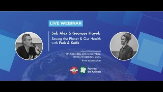 EUROPESE OMROEP | OPENN  | Webinar: Saving the planet and our health with fork and knife (with Seb Alex and Georges Hayek)