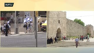 EUROPESE OMROEP | OPENN  | LIVE: Israeli nationalists mark Jerusalem Day with flag parade amid tensions in East Jerusalem