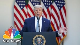 EUROPESE OMROEP OPENN Live: Trump Gives Update On Coron