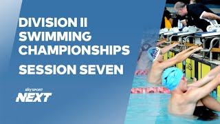 EUROPESE OMROEP | OPENN  | Session Seven | Division II Championships | Swimming