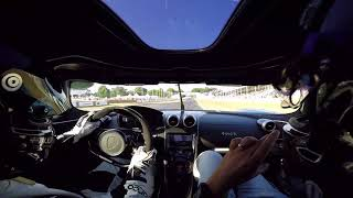 EUROPESE OMROEP | OPENN  | Koenigsegg Agera FE 'Thor' at 2018 Goodwood Festival of Speed