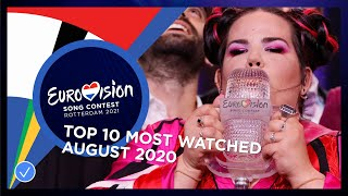 EUROPESE OMROEP OPENN TOP 10: Most watched in August 20