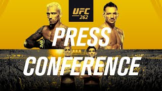 EUROPESE OMROEP | OPENN  | UFC 262: Pre-fight Press Conference