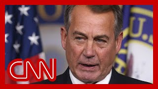 EUROPESE OMROEP OPENN Boehner book: GOP colleague held