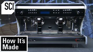 EUROPESE OMROEP | OPENN  | How It's Made: Espresso Machines