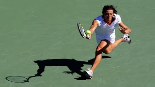EUROPESE OMROEP | US Open Tennis Championships | Francesca Schiavone Tweener vs Alona Bondarenko (2010 US Open) | 1520867256 2018-03-12T15:07:36+00:00