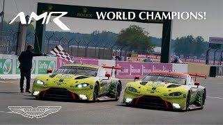 EUROPESE OMROEP | OPENN  | Aston Martin are World Champions! | Vantage GTE - the world's best GT car