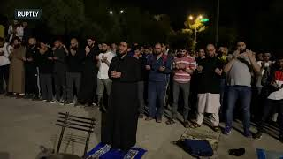 EUROPESE OMROEP | OPENN  | Live from Jerusalem's al-Aqsa Mosque on al-Quds day amid tensions over Palestinians' evictions