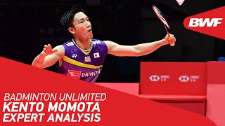 EUROPESE OMROEP | OPENN  | Badminton Unlimited | Expert Analysis on Kento Momota's game | BWF 2021