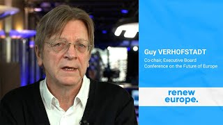 "EUROPESE OMROEP | OPENN  | Guy Verhofstadt - ""The Conference will make Europe stronger"""