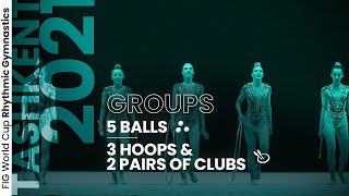 EUROPESE OMROEP | OPENN  | 2021 Tashkent Rhythmic Gymnastics World Cup – Highlights Group Competition