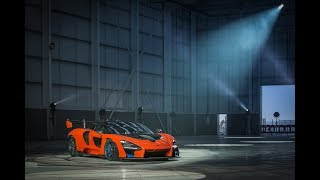 EUROPESE OMROEP | McLaren Automotive | The McLaren Senna laying down rubber at the new McLaren Composites Technology Centre | 1516174950 2018-01-17T07:42:30+00:00